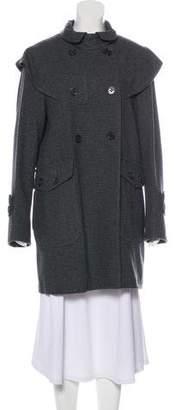 See by Chloe Knee-Length Wool Coat w/ Tags