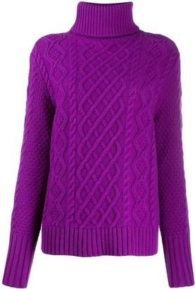 Parker Chinti & novelty knit jumper