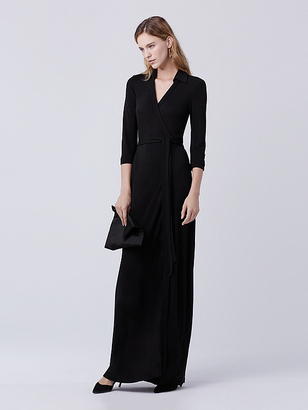 Abigail Maxi Jersey Wrap Dress $498 thestylecure.com