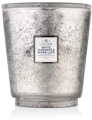 Voluspa White Currants & Alpine Lace Hearth Candle