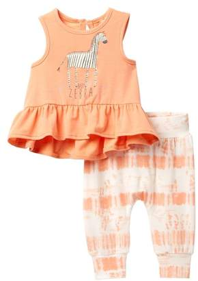 Jessica Simpson Baby Zebra Top & Pant Set (Baby Girls)