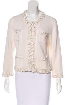 Magaschoni Embellished Cashmere Cardigan