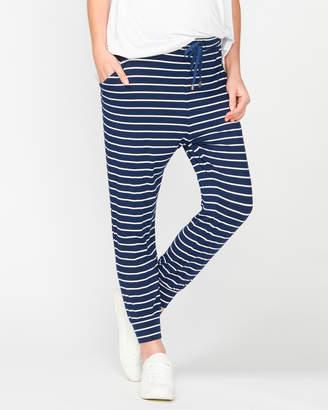 Jaya Stripe Slouch Pants