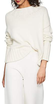 The Row Women's Gracie Cotton-Blend Sweater - Natural