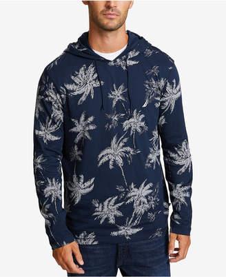 Nautica Men's Palm-Print Lightweight Hoodie