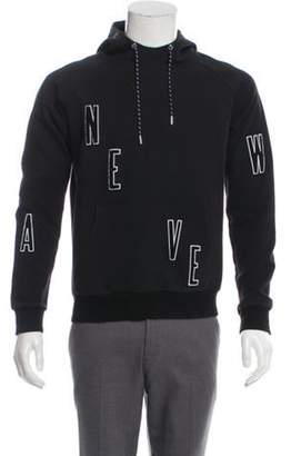 Christian Dior 2017 New Wave Graphic Hoodie black 2017 New Wave Graphic Hoodie