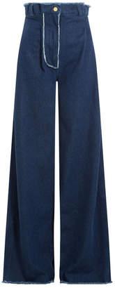 Natasha Zinko High Waisted Flared Jeans