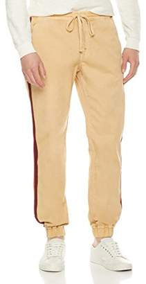 Co Quality Durables Men's Regular Fit Casual Pants with Side Stripe 42x32