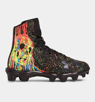 Under Armour Boys' UA Highlight RM Jr. LE Football Cleats