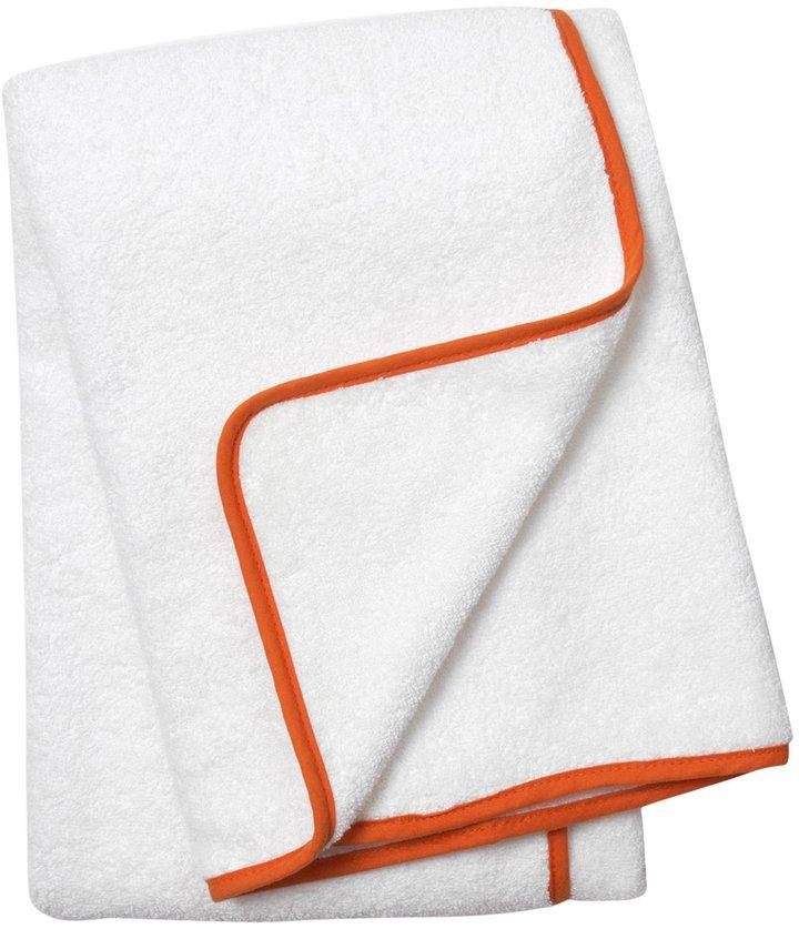 Jonathan Adler Piped Bath Towel, Orange