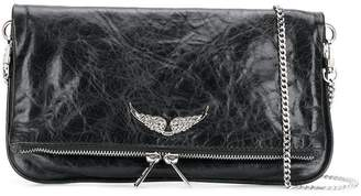 Zadig & Voltaire Zadig&Voltaire Rock wings clutch bag