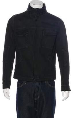 Helmut Lang Sherpa-Trimmed Jacket