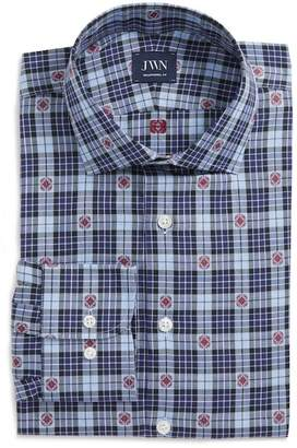 John W. Nordstrom R) Traditional Fit Plaid Dress Shirt