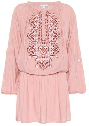 Melissa Odabash Nadja embroidered minidress