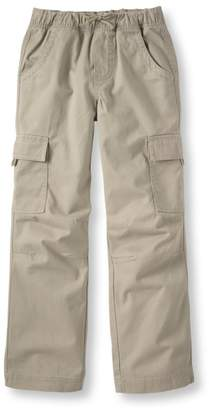 L.L. Bean L.L.Bean Boys' Cotton Twill Cargo Pants