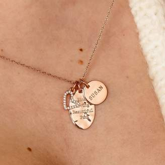f6a4fe86b Your Own STAXX Create Personalised Heart Charm Necklace