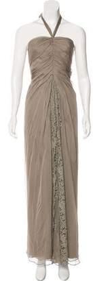 Alberta Ferretti Silk Evening Dress