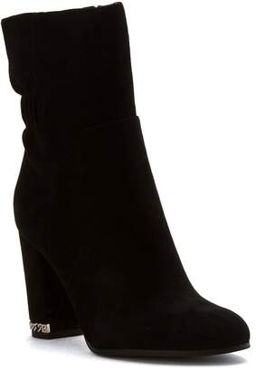 MICHAEL Michael Kors Womens Chase Suede Almond Toe Ankle, Black, Size 9.5