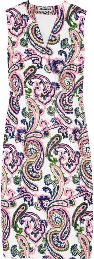 Jil Sander Lunetta paisley-print woven dress