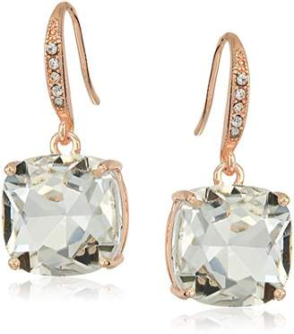 T Tahari Uptown Jewels Women's Rsg Cry Casted Fh Drop Earrings