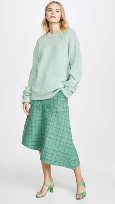 Tibi Cargo Paneled Skirt