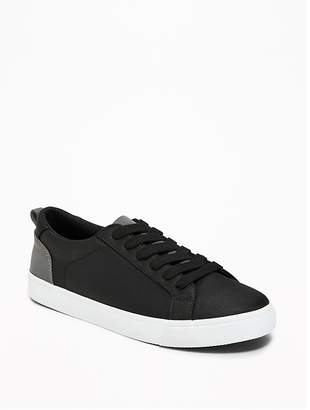 Old Navy Nylon Reflective-Trim Sneakers for Boys
