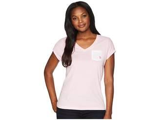 U.S. Polo Assn. V-Neck Pocket Tee Women's T Shirt