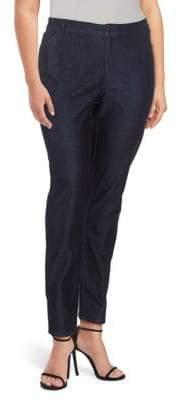Lafayette 148 New York Curvy Slim-Leg Jeans