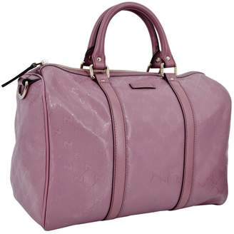 Gucci Boston leather bowling bag