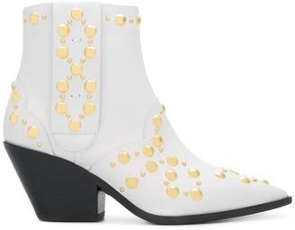 Casadei studded cowboy boots