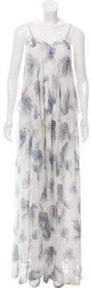 Cacharel Silk Floral Print Dress w/ Tags