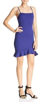 Sunset & Spring Sunset + Spring Ruffle-Hem Body-Con Dress - 100% Exclusive