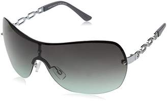 Southpole Women's 441sp-Slvgy Shield Sunglasses