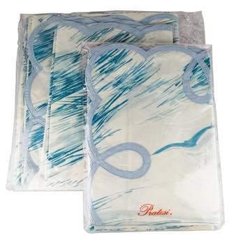 Pratesi 7-Piece Gabbiano King-Size Bed Linen Set w/ Tags