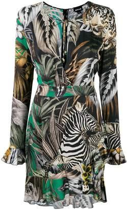 Just Cavalli multi print dress
