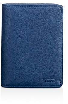 Tumi Nassau Leather Gusseted Card Case