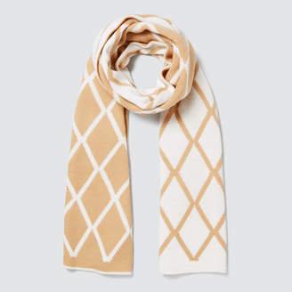 Seed Heritage Diamond Knit Scarf