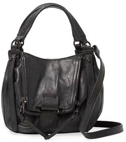 Jonnie Mini Leather Satchel $278 thestylecure.com