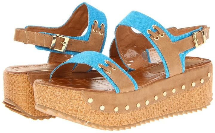 2 Lips Too - Too Savoy (Blue) - Footwear