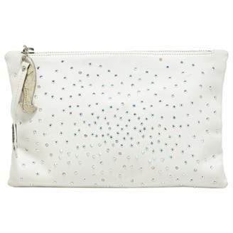 Giuseppe Zanotti White Leather Clutch bag