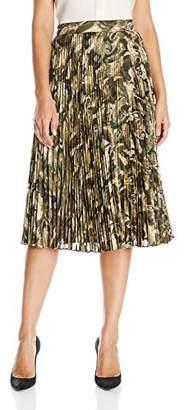 Haute Hippie Women's Sunburst Flare Midi Skirt