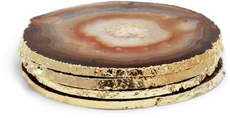 AERIN Agate Coasters (Set Of 4)