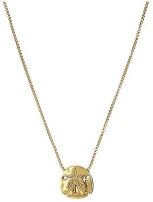 Alex and Ani 18 Sand Dollar Adjustable Necklace