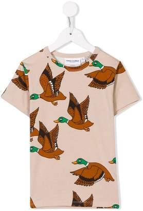 Mini Rodini wild duck-print T-shirt
