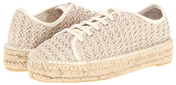 Ralph Lauren Cailin (Cream) - Footwear