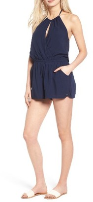 Women's Roxy Extratropical Halter Romper $49.50 thestylecure.com
