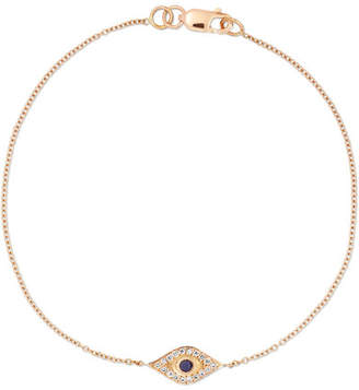 Ileana Makri Wisdom 18-karat Rose Gold, Diamond And Sapphire Bracelet
