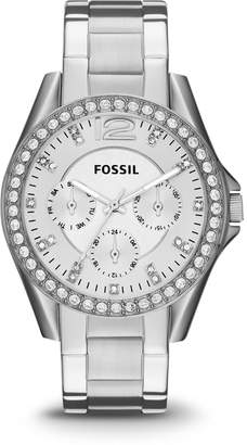 Fossil Riley Multifunction Stainless Steel Watch