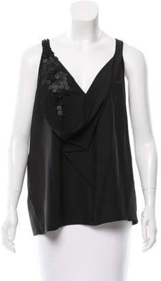 Robert Rodriguez Embellished Sleeveless Top w/ Tags