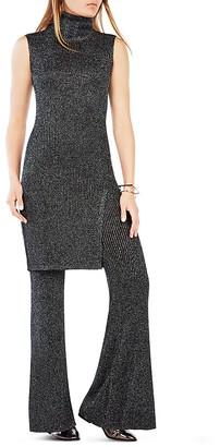 BCBGMAXAZRIA Ameuya Turtleneck Knit Tunic $198 thestylecure.com